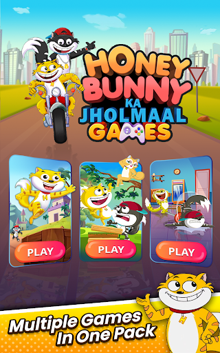 Honey Bunny Ka Jholmaal Games : Rise Up Jump & Run 1.0.3 screenshots 1