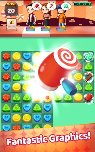 Sweet Jelly Pop 2021 - Match 3 Puzzle 1.0 screenshots 1