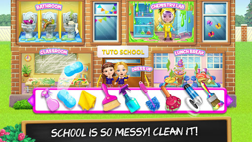 Sweet Baby Girl Cleanup 6 - School Cleaning Game  screenshots 8