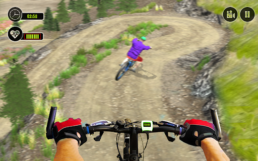 Offroad BMX Rider: Mountain Bike Game Apkfinish screenshots 4