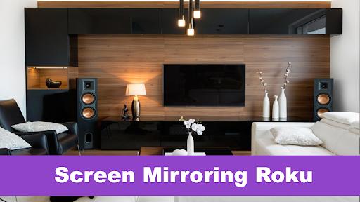 Screen Mirror for Roku TV : Screen Sharing  screenshots 1