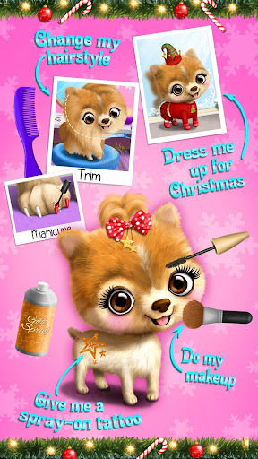 Christmas Animal Hair Salon 2  Screenshots 3