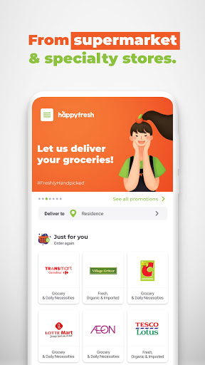 HappyFresh: Grocery, Food Delivery Online Shopping 3.33.1 screenshots 2