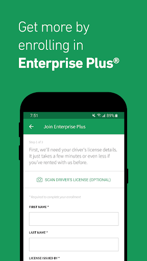 Enterprise Rent-A-Car - Car Rental 4.0.0.489 Screenshots 4