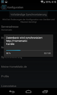 TinyMatic - HomeMatic for your pocket! 2.17.1 Screenshots 8