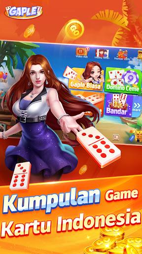 POP Gaple - Domino gaple Ceme BandarQQ Solt oline 1.14.0 screenshots 1