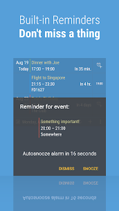 Calendar Widget: Month + Agenda Mod Apk [PRO/EXTRA] 4