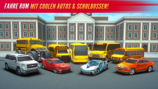 Super High School Bus Simulator und Auto Spiele 3D 2.7 screenshots 4