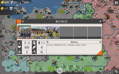 European War 4: Napoleon Mod Apk 1.4.32 (Free Shopping + Unlimited Medal) 8
