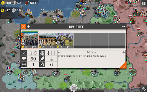 European War 4 : Napoleon Screenshot