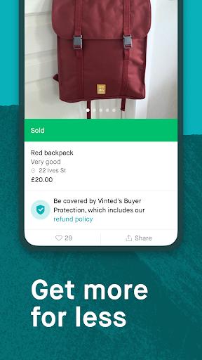 Vinted - sell & buy second-hand fashion apktram screenshots 4