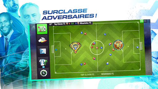 Code Triche Top Eleven 2021 : Deviens un manager de football (Astuce) APK MOD screenshots 4