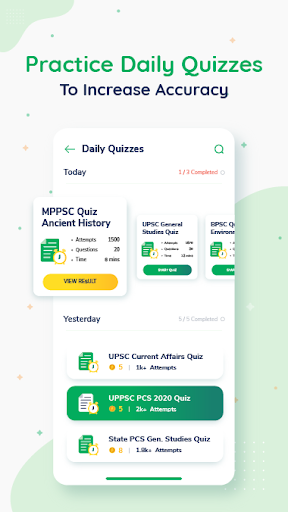 Exam Preparation App: Free Mock Test, Live Classes 9.74 Screenshots 3