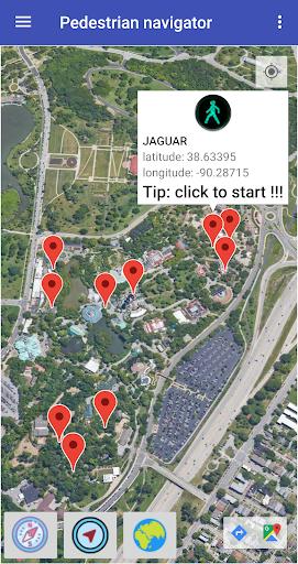 Pedestrian navigator  Screenshots 2