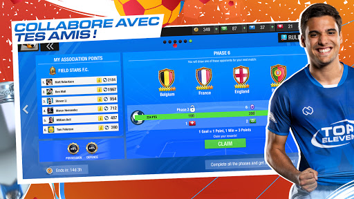 Code Triche Top Eleven 2021 : Deviens un manager de football APK MOD (Astuce) screenshots 6