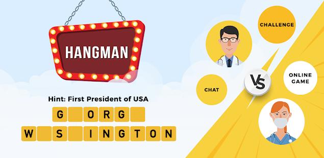 Hangman Multiplayer - Online Word Game 8.0.4 screenshots 1