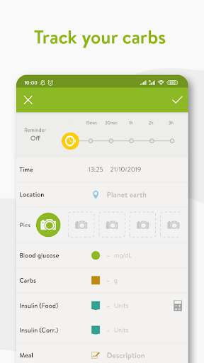 mySugr - Diabetes App & Blood Sugar Tracker apktram screenshots 2