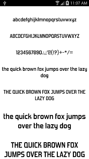 Fonts for FlipFont 50 #6 4.0.4 Screenshots 2