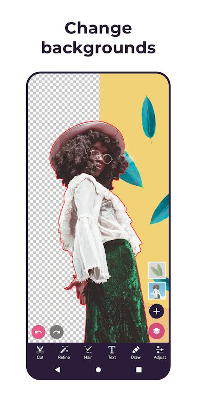 Pixomatic - Background eraser  poster 1