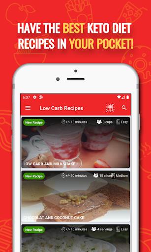 Foto do 🌮 Keto Diet Recipes: Low Carb & Keto Recipes Free