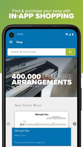Musicnotes Sheet Music Player modavailable screenshots 7