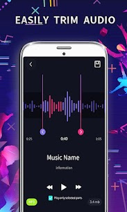 MP3 Editor: Cut Music, Video To Audio 2