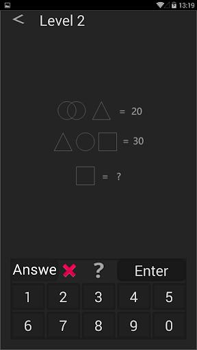 Math games - mind games - brain games  screenshots 6