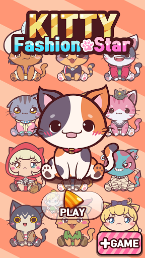 Kitty Fashion Star : Cat Dress Up Game 1.0.4 screenshots 1