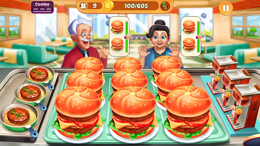 Cooking Crush: New Free Cooking Games Madness 1.2.6 screenshots 1