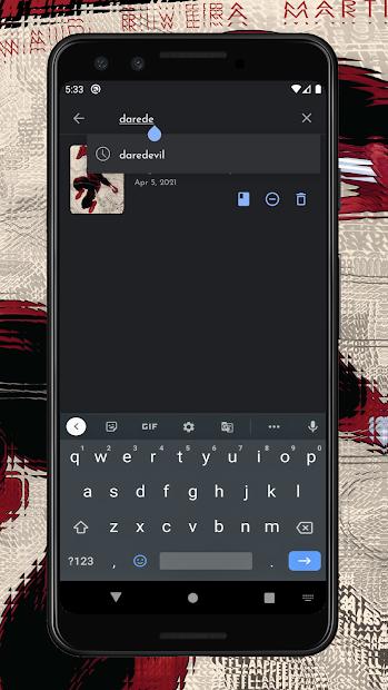 Screenshot 5 de Comican : Comic book reader (CBR, CBZ, RAR) para android