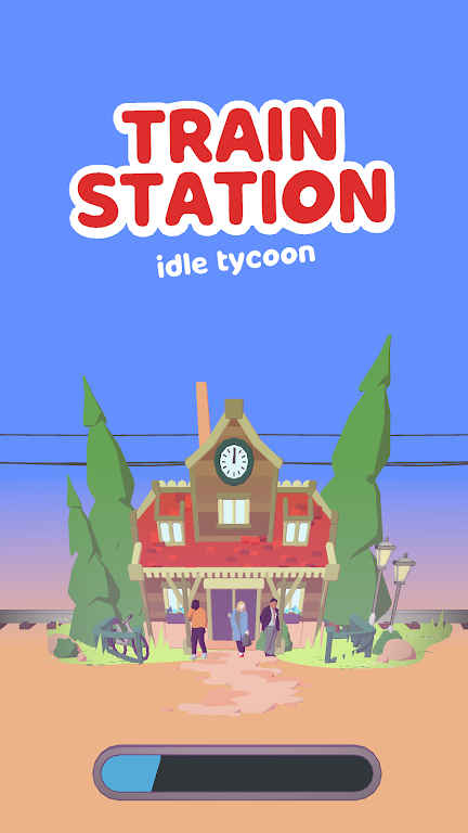 Train Station Idle Tycoon  poster 0