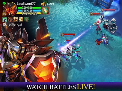 Download Heroes of Order & Chaos strategy game-role-oriented order and chaos Android! 4