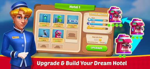 Dream Hotel: Hotel Manager Simulation games android2mod screenshots 4
