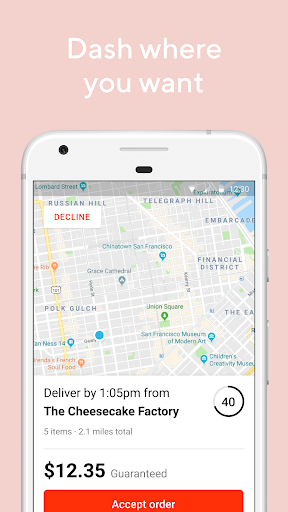 DoorDash - Driver 6.08.3 screenshots 2