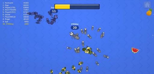 Ants .io - Multiplayer Game Apkfinish screenshots 3
