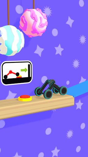 Folding Car puzzle games: fun racing car simulator  screenshots 3