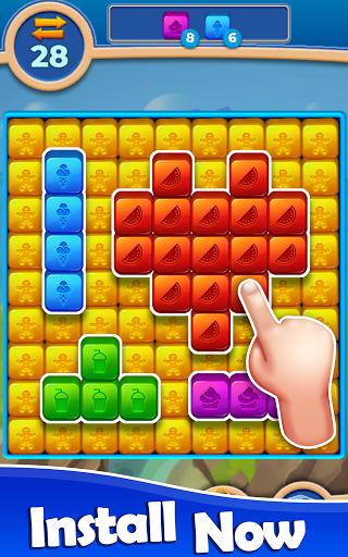 Cube Blast: Match Block Puzzle Game apkpoly screenshots 5