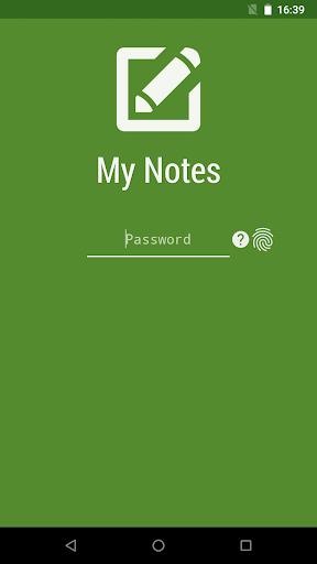 My Notes - Notepad  screenshots 1