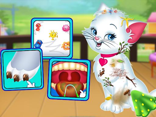 Pet Vet Care Wash Feed & Play - Animal Doctor  screenshots 9