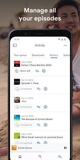 Google Podcasts: Discover free & trending podcasts  screenshots 3