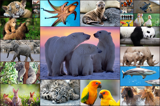 Animals Jigsaw Puzzles Game - For Kids & Adults 🐇  updownapk 1