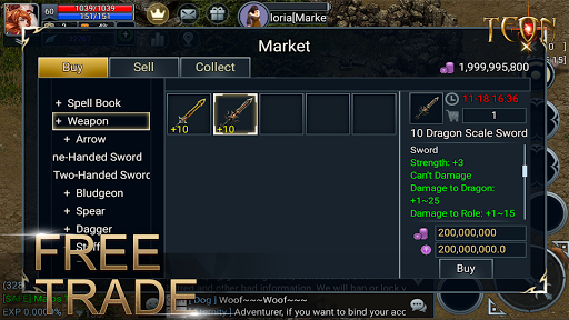 Teon: Sword & Magic apkslow screenshots 2