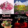 Good Night Morning Evening Aftenoon GIF app apk icon