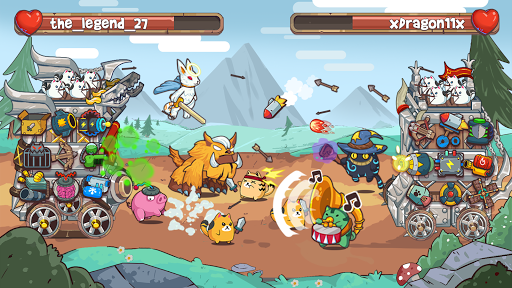 Cat'n'Robot: Idle Defense - Cute Castle TD PVP 3.2.1 screenshots 2
