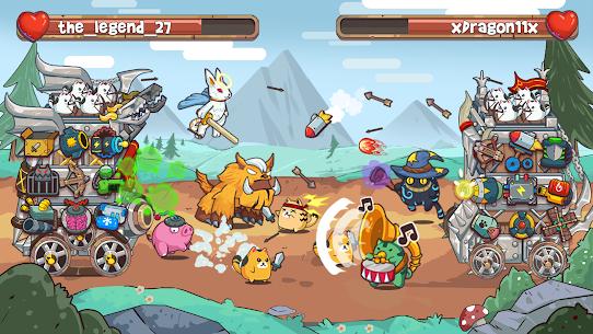 Cat'n'Robot: Idle Defense – Cute Castle TD PVP 2