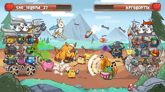 Cat'n'Robot: Idle Defense - Grow Castle TD Battle 3.5.2 Screenshots 2