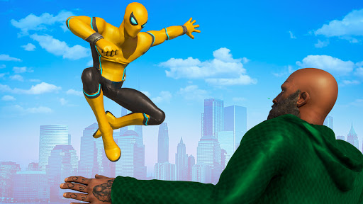Spider Rope Hero - Gangster Open World City screenshots 10