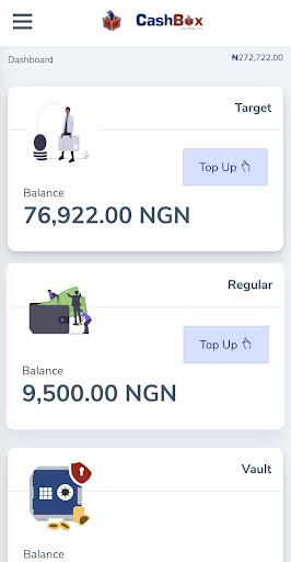CashBoxNG- Save money securely.