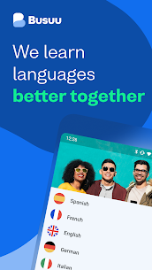 Busuu: Learn Languages – Spanish, Japanese Etc Mod 21.2.0.560 Apk (Unlocked) 1