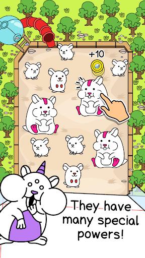 Hamster Evolution - Merge and Create Cute Mice! 1.0.2 screenshots 2